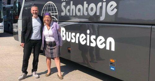 Zu Besuch bei Busunternehmer Schatorjé in Keveleaer: Hanneke Hellmann ist für ÖPNV-Offensive im Kreis