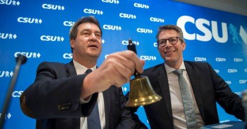 """CSU-Generalsekretär Markus Blume: """"Es geht um die Frage, wer Merkels Vermächtnis weiterträgt"""""""