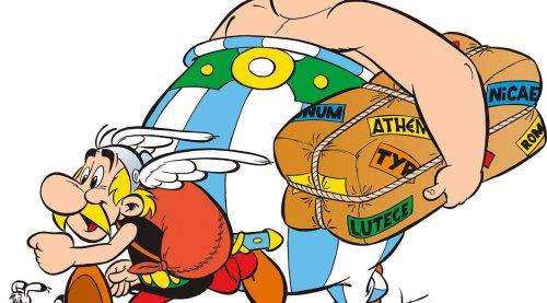 """Legendäre Comic-Reihe: """"Asterix im Zirkus"""" – Unbekannter Entwurf von René Goscinny entdeckt"""