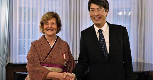 Auszeichnung für Städtefreundschaft: Japanischer Konsul ehrt Mielke-Westerlage