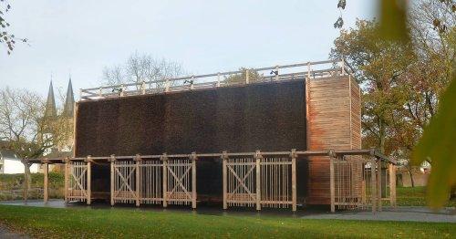 Bewässerung von Pflanzen: Xanten errichtet Zisterne am Gradierwerk