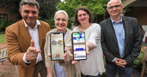 Pilotprojekt fürs Ehrenamt im Klostergarten Kevelaer: Wie eine App beim Schleppen helfen soll