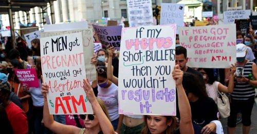 Tausende in Washington auf den Straßen: Amy Schumer und Jennifer Lawrence bei Demo für Abtreibungsrecht