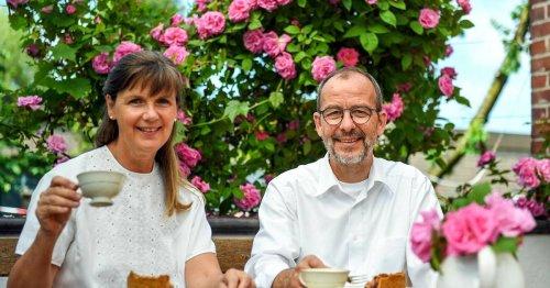 Genießen in Geldern: Gelderns neues Gartencafé