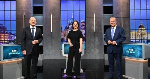 Faktencheck zum dritten Triell: Wo die drei Kanzlerkandidaten falsch und richtig lagen