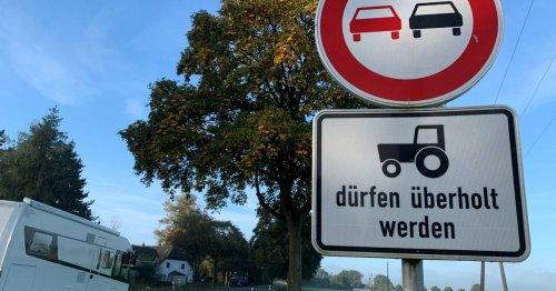 Polizei erklärt was im Kreis Kleve auf den Straßen erlaubt ist: Nicht jeder Trecker darf überholt werden