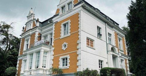 Historische Fassaden: Altes Kleve mit Schlösschen und Brauerei
