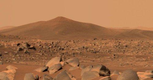 """""""Perseverance"""" endlich losgerollt: Mars-Rover ist auf dem Weg zum """"Jezero Crater"""""""