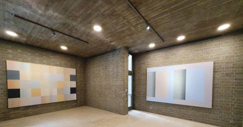 Ulrich Erben im Schmela-Haus: Duett von Malerei und Architektur