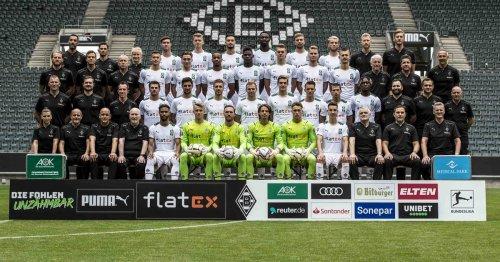 Borussia nimmt Aufstellung: Neues Mannschaftsfoto sorgt für ein Novum in Gladbach