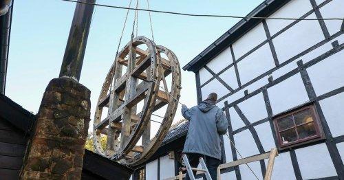 Wipperkotten in Solingen: Ohne Wasser überlebt das Rad nicht