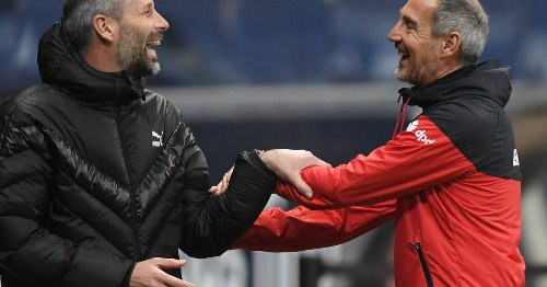 Gladbachs Sportdirektor: So hat Eberl Adi Hütter von Borussia überzeugt