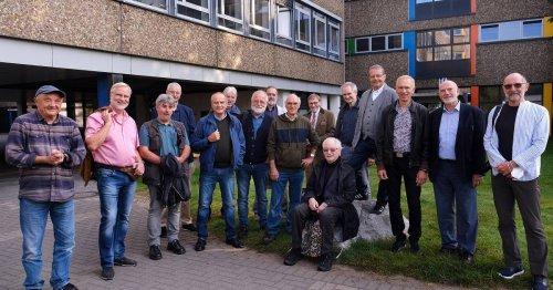 Feier am Innenstadt-Gymnasium: Abiturienten sehen sich nach 50 Jahren wieder