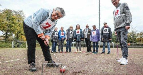 Gateball in Garath: Seniorensport aus Fernost