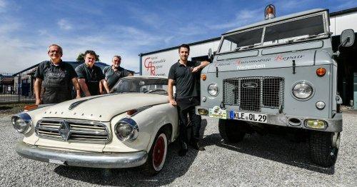 Classic Automobile Repair (CAR) Niederrhein in Geldern: Wo der Chef jünger als die Autos ist