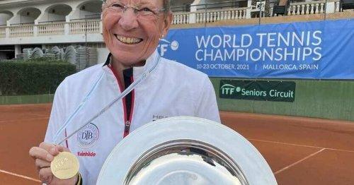 Seniorentennis: Adams holt WM-Titel mit dem Team