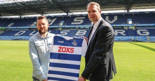 Für den Gründer wird ein Traum wahr: Das Unternehmen Zoxs aus Wesel wird Sponsor im Profi-Fußball