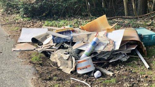 Wilde Müllkippen im Kreis Viersen: Viel Müll entlang der Kreisstraßen – jetzt sollen Langzeitarbeitslose helfen