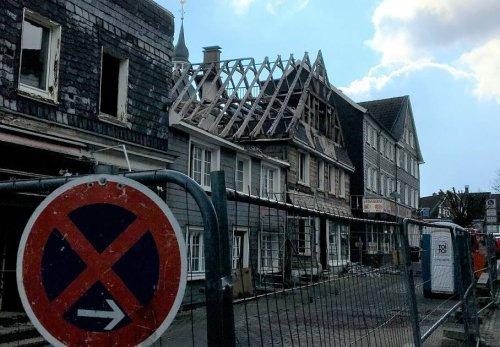 Innenstadt von Radevormwald: Abriss an der Nordstraße geht weiter