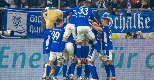 2. Bundesliga: Schalke springt mit Sieg auf den zweiten Tabellenplatz