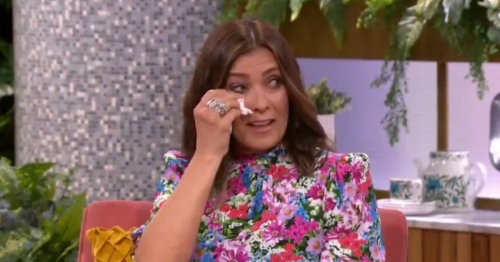 Kym Marsh left in tears on TV while discussing her dad's incurable cancer