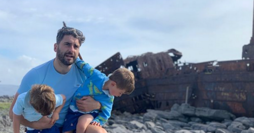 Bernard Brogan shares snaps from stunning staycation to Inis Oirr with kids
