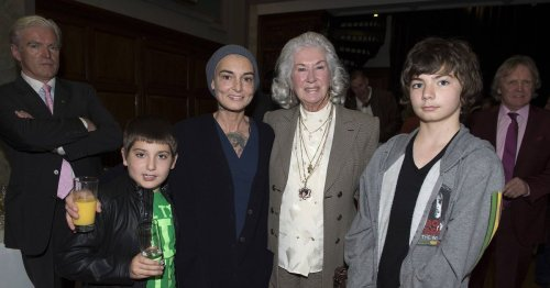 Mum-of-four Sinead O'Connor praises her 'lovely, happy' children in sweet snaps