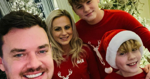 Danny O'Carroll admits to nerves as sons join him on Mrs Brown's live special