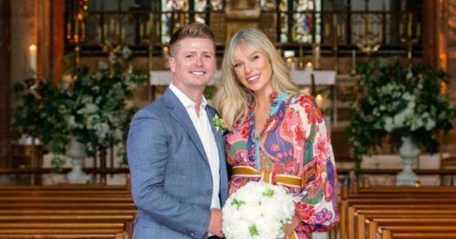 Pippa and Brian's 10th anniversary vow renewal in Limerick church was gorgeous