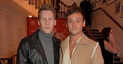 Tom Daley says he 'doesn't care' about age difference with husband Dustin