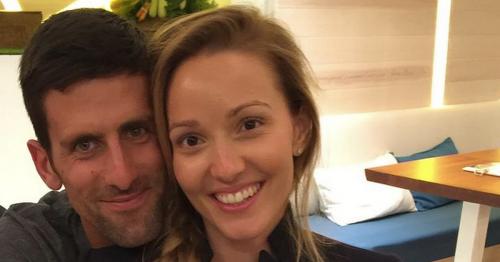 Novak Djokovic's magical wedding to his pregnant wife Jelena
