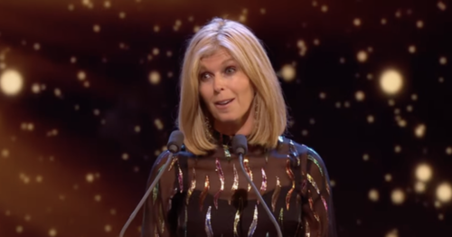 Kate Garraway fights back tears as she talks about husband Derek's condition