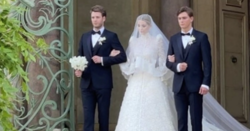 Princess Diana's niece Kitty Spencer, 30, marries 62 year old billionaire