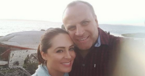 Gráinne Seoige feels lucky to have met her husband Leon Jordaan later in life