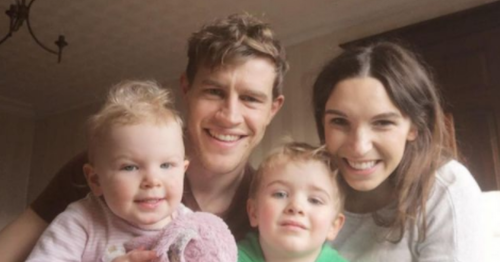 Andrew Trimble got to know his wife Anna and three kids again during lockdown