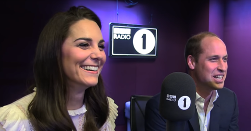 William and Kate had cheeky moment when she didn't understand naughty radio game