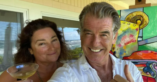 Pierce Brosnan posts rare picture of wife Keely as they celebrate her birthday