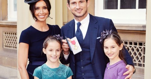 Christine Lampard didn't meet Frank's kids for a year when they got together