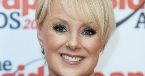 Corrie star Sally Dynevor poses with famous daughter in rare family photo