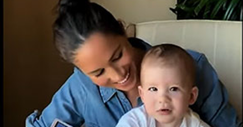 Harry and Meghan make rare appearance with son Archie ahead of new Oprah doc