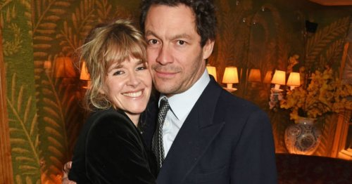 Catherine FitzGerald and Dominic West had 'love affair' long before they married