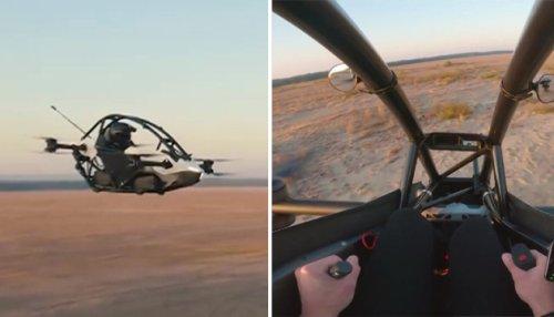 Ça y est, c'est le futur: une startup commercialise un drone capable de transporter une personne à 100 km/h (vidéo)