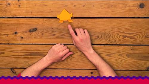 Constrói um origami | Desafio #FicoEmCasa | Zig Zag | RTP
