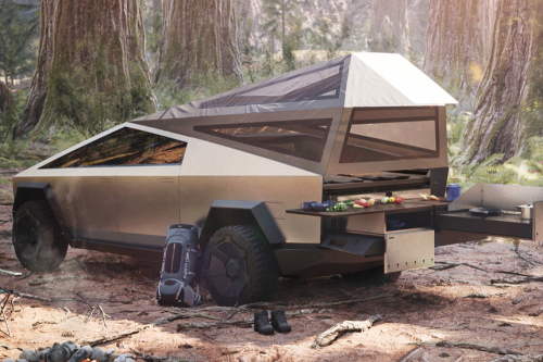 Tesla's Cybertruck Camper is the Future of All-Electric Camping