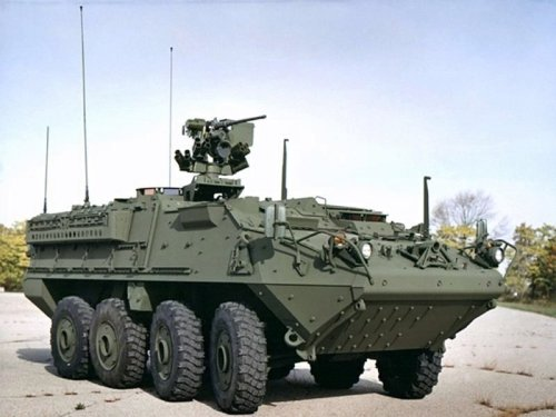 The Stryker Vehicle Boasts An Air Defense System And A 450hp Engine