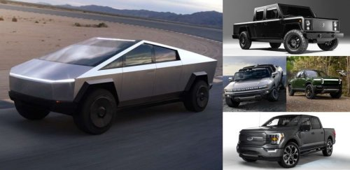 The Tesla Cybertruck Against its Competitors; Electric Pickups Compared