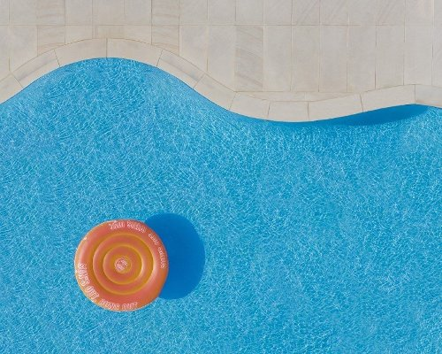 Brad Wall's aerial photo series 'Pools from Above' opens up a unique perspective