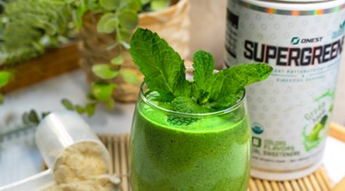 Post Workout Green Smoothie