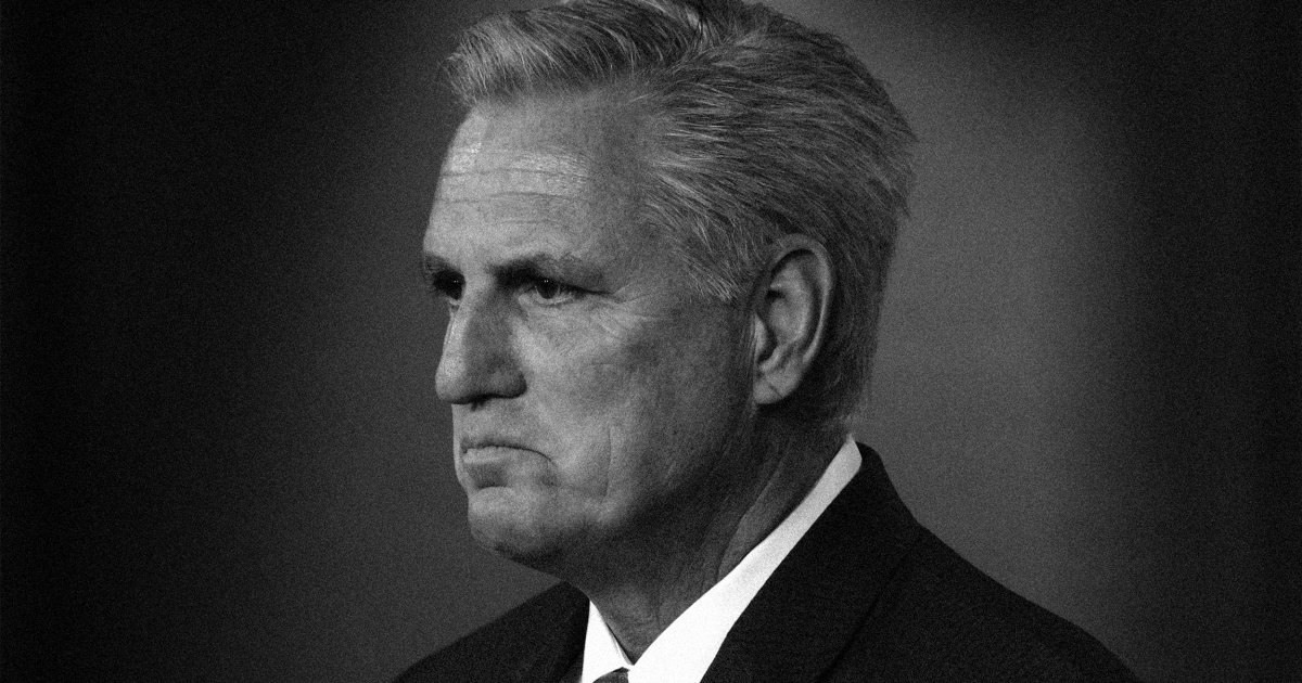 The humiliating, hypocritical collapse of GOP 'leader' Kevin McCarthy