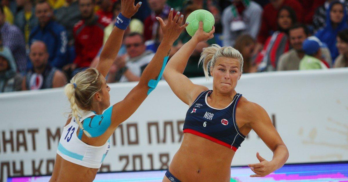 Norwegian women's beach handball team fined for not playing in bikinis